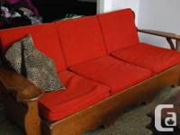 Antique Adirondack Couch with option of buying matching