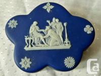1.trinket box 1895  $100  2.small dish or ashtray