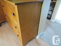 Antique Beech dresser with 3 drawers. Bought it from an