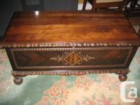 Selling a beautiful antique Cedar Chest, in excellent