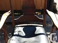 Antique chairs looking for a good home. $75.00 or best