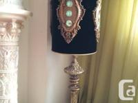 Antique Champagne Accent Lamp is luxury at its finest.