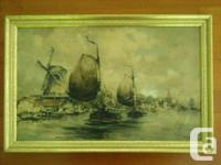 Collection of oil paintings primarily from the 1800's *