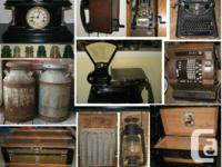 Antique Collection Sale   Vintage Tools - Toys -