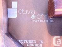 made in Canada Davis and Chine Antique Dining table and