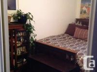 Beautiful condition - oak bed, head and foot boards