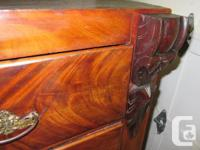 Lots of character in this 19th century dresser. Has