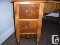 Dressing table and Bench Mirror (can be detached )