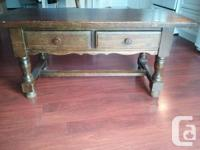 Beautiful table..Its at least 40 or 50+ years old Been