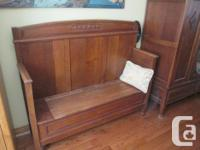 Antique Bedroom Suite from Belgium: all hand-carved