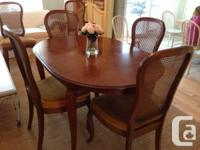 Quality Gibbard French provincial dining room table