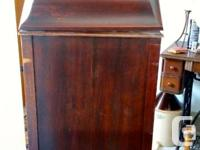 Antique gramophone for sale.Made by Sovereign in