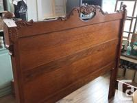 Gorgeous queen bedframe complete with headboard,