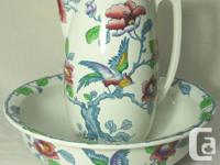 This is a beautiful antique Losol Ware pitcher and