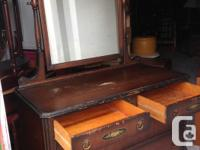 All drawers work great Mirror is in great shape Asking