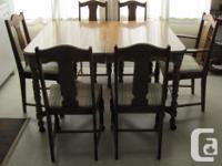 "$750.00 OBO. Antique maple table dimensions 52"" l x 42"""