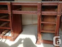 Selling antique marble top desk. Planned to restore but