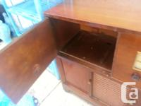 Vintage 1954 Marconi Radio Cabinet in working