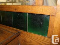 for sale very old antique Oak hall stand in very good