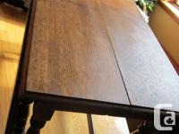 Beautiful, Quality Antique Strong Oak Entrance Leg