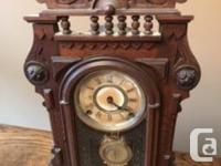 Clock - Made in New York. Will require some restoration
