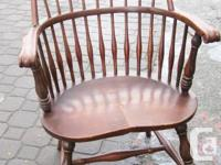 Antique original Windsor chair with great patina a