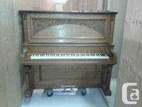 Haddorf piano, was made in 1904 and has been