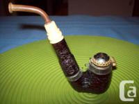 Antique Pipe, Ashtrays and Antique Tins