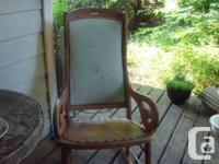 Here is that antique rocking chair you were looking for