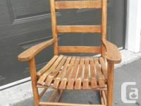 * Beautiful antique rocking chair for sale * Made of