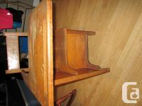 Old time antique wooden desk from Cardigan Consolidated