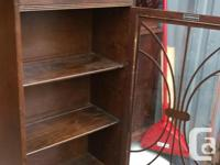 This is a nice cabinet made by Honderich Asking $170..