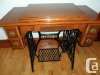"""Selling an antique """"Singer"""" sewing machine. Dating back"""