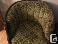 Antique Sofa and Chair made at the turn of the 20th