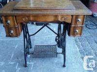 Antique Stockman Sewing Machine (working). I was going