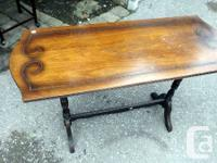 This Antique Trestle Table would look great in any
