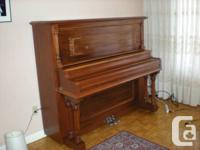 Up right grand piano.. Built circa 1880's  is taller