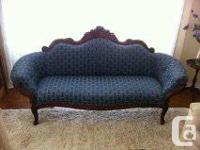 Mint condition Victorian Sofa for sale.  Ornate
