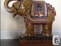 I am selling a beautiful VINTAGE LUCKY ELEPHANT