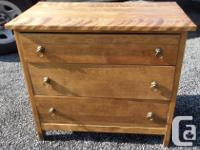 Antique little washstand 22 wide 17 deep and maple