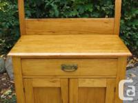 Need a storage cupboard, night table, or a place for