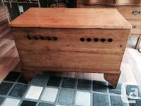 Very nice condition, antique trunk that would have been
