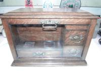 antique writing desk about 100 yrs. old appraised by