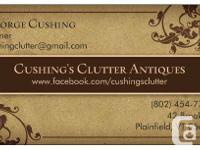 CUSHING'S CLUTTER LOCATED ONLY A SHORT DISTANCE FROM