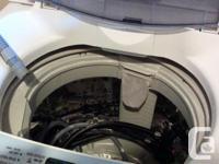 LG digital washer 2 1/2 years old. Bottom agitator so