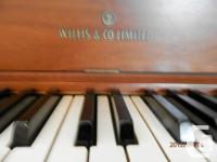 This piano is in excellent condition. Recently tuned,