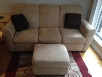 Dufresne Apartment Sofa & Ottoman Colour: tan/yellow