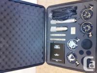 $600obo * Two Apex 185 Dual capsule Pencil Condenser