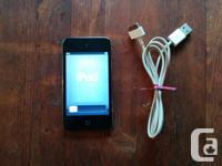This listing is for a black, 4th generation Apple iPod