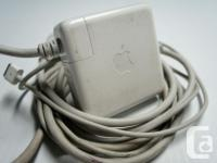 Power Supply: Apple 85W MagSafe Power Adapter (for 15-